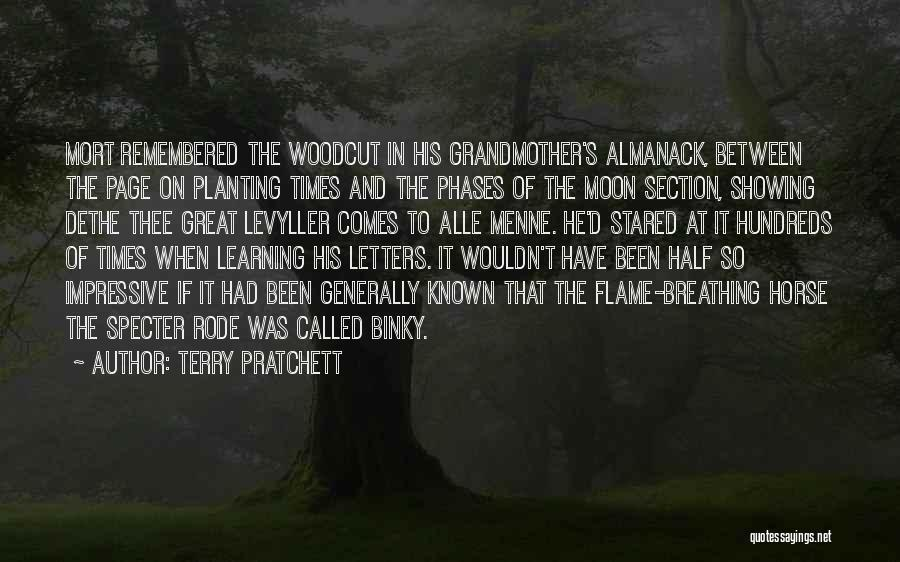 Moon Phases Quotes By Terry Pratchett