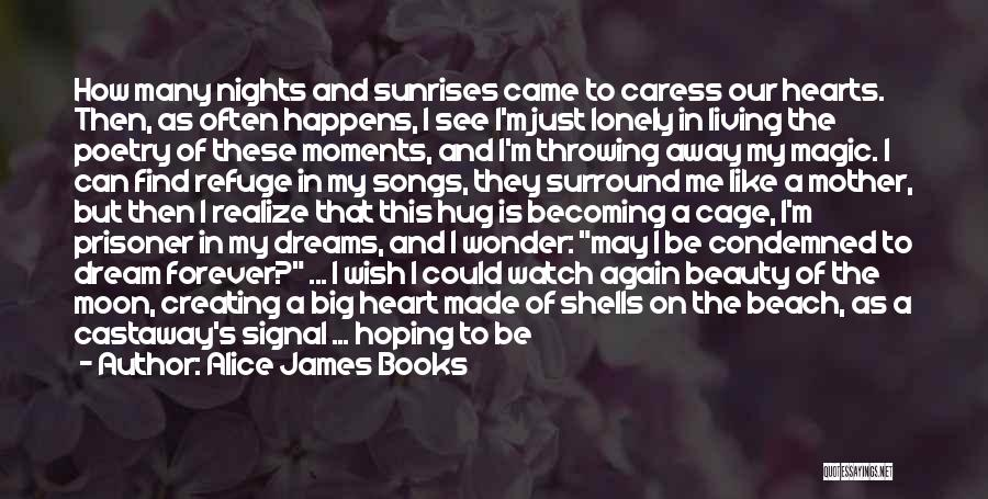 Moon's Beauty Quotes By Alice James Books