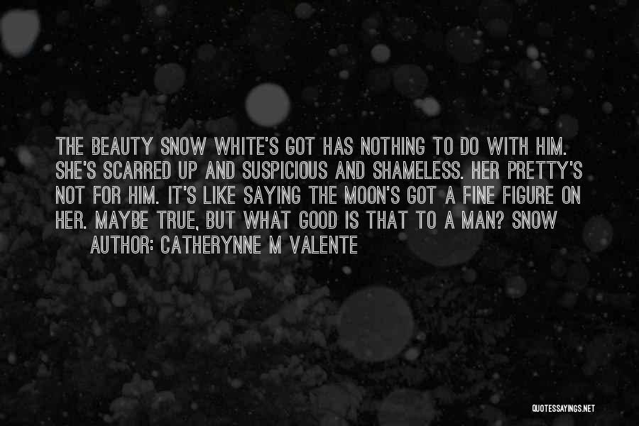 Moon's Beauty Quotes By Catherynne M Valente