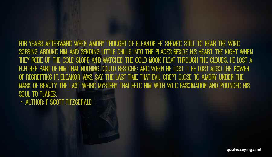 Moon's Beauty Quotes By F Scott Fitzgerald