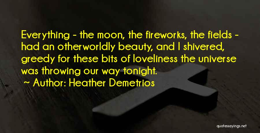 Moon's Beauty Quotes By Heather Demetrios