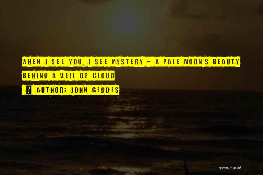 Moon's Beauty Quotes By John Geddes