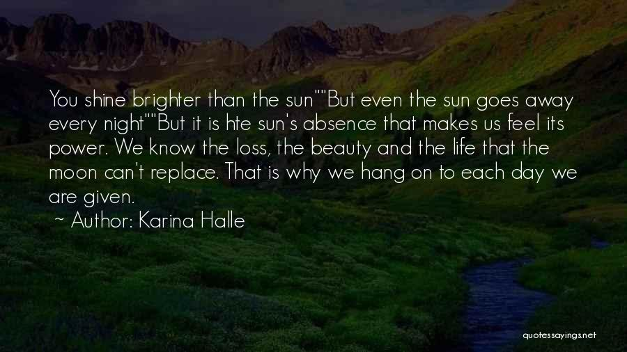 Moon's Beauty Quotes By Karina Halle