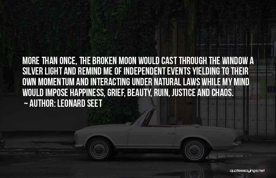 Moon's Beauty Quotes By Leonard Seet