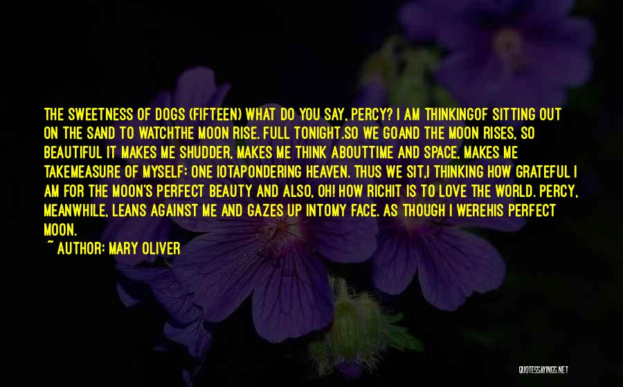 Moon's Beauty Quotes By Mary Oliver