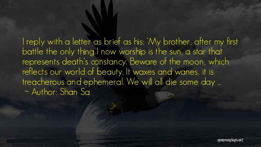 Moon's Beauty Quotes By Shan Sa