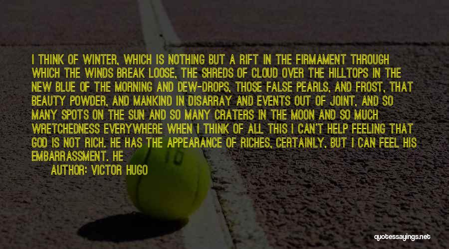 Moon's Beauty Quotes By Victor Hugo