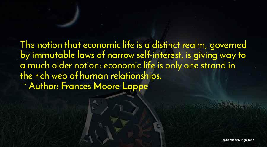 Moore's Law Quotes By Frances Moore Lappe