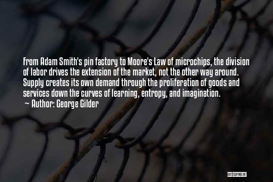 Moore's Law Quotes By George Gilder