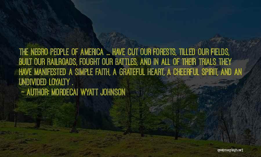 Mordecai Wyatt Johnson Quotes 1687110