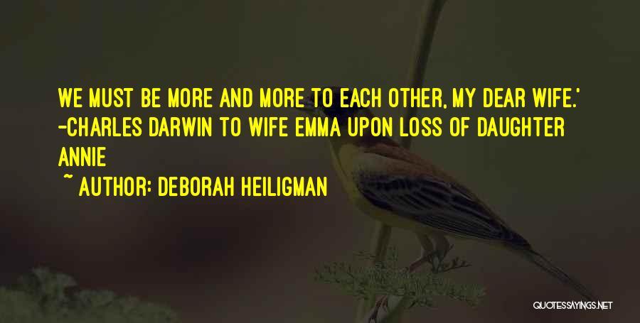 More Marriage Quotes By Deborah Heiligman