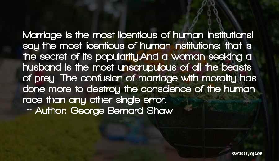 More Marriage Quotes By George Bernard Shaw