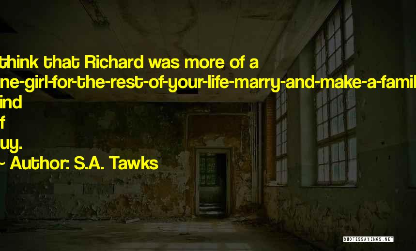 More Marriage Quotes By S.A. Tawks