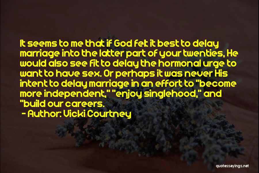 More Marriage Quotes By Vicki Courtney