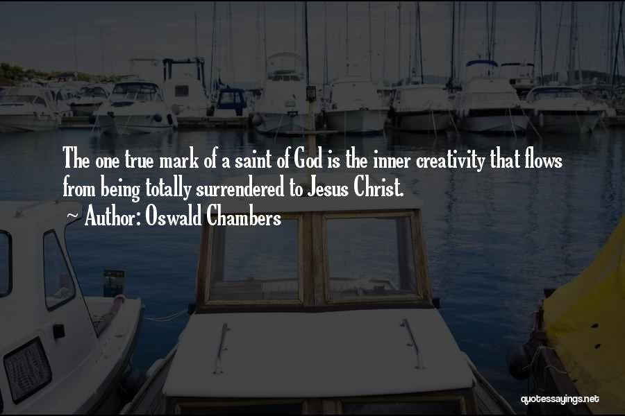More Of Jesus Less Of Me Quotes By Oswald Chambers