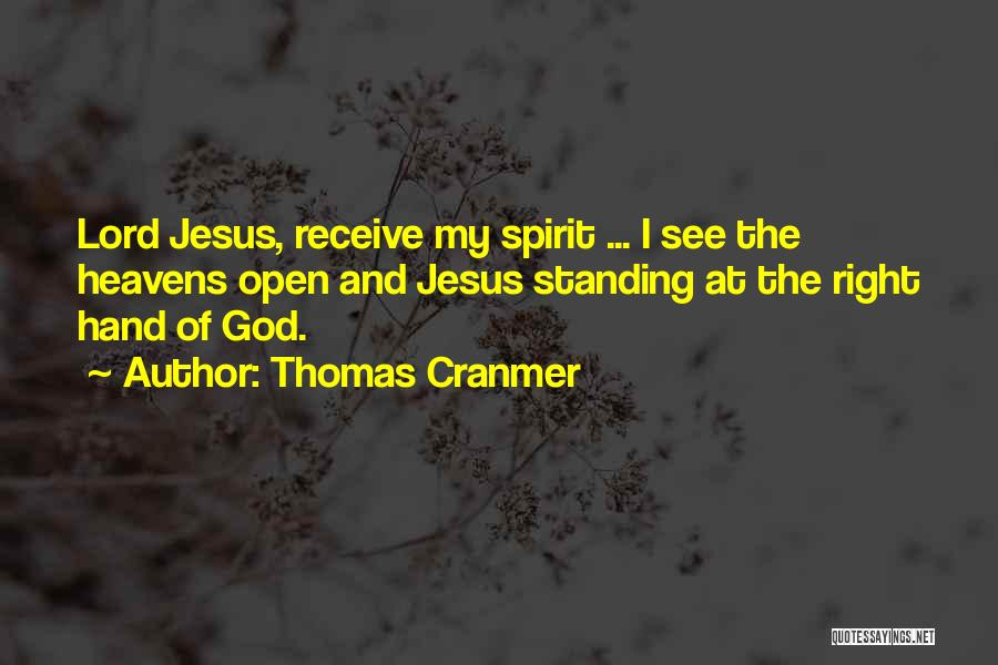 More Of Jesus Less Of Me Quotes By Thomas Cranmer