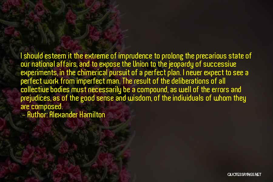 More Perfect Union Quotes By Alexander Hamilton