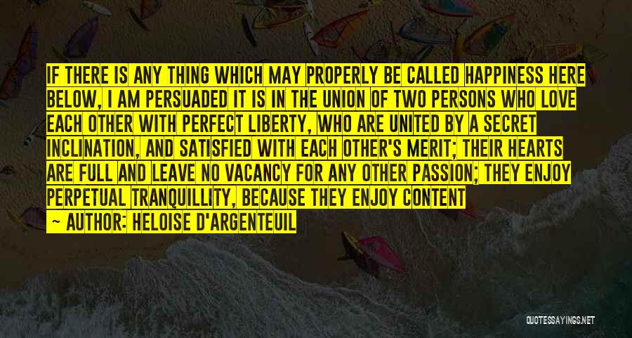 More Perfect Union Quotes By Heloise D'Argenteuil