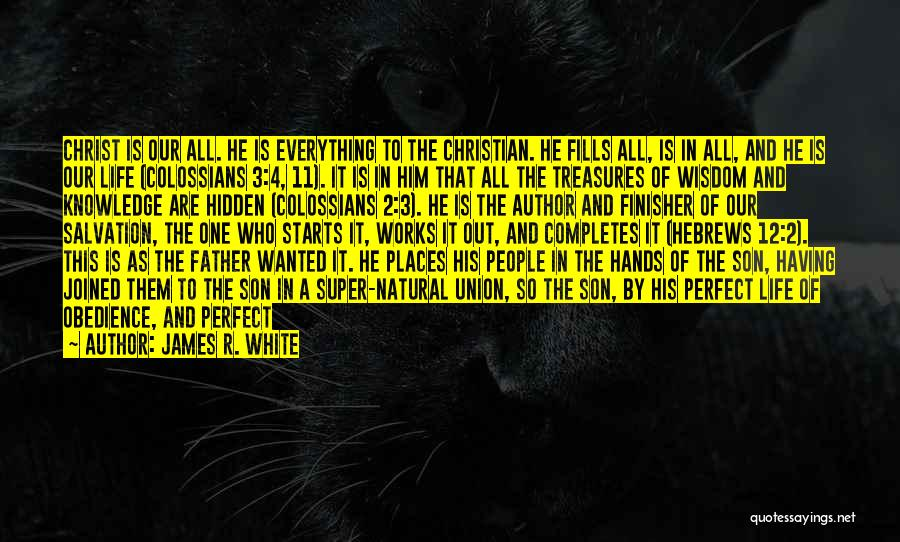 More Perfect Union Quotes By James R. White