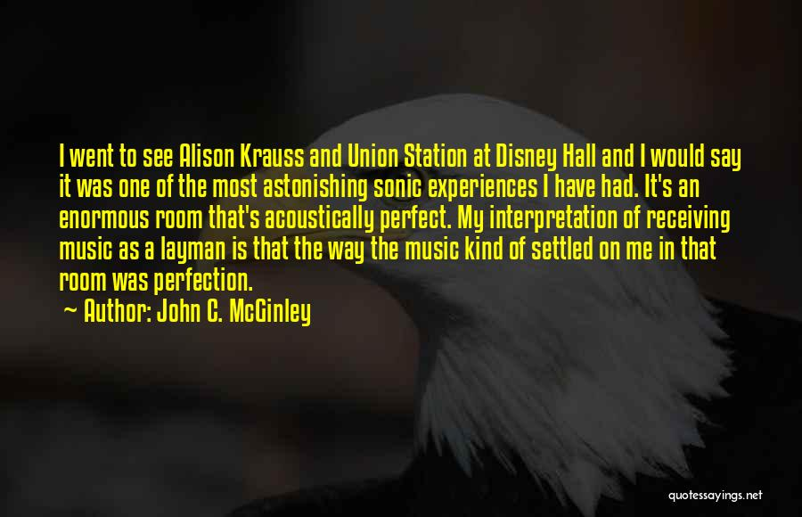 More Perfect Union Quotes By John C. McGinley