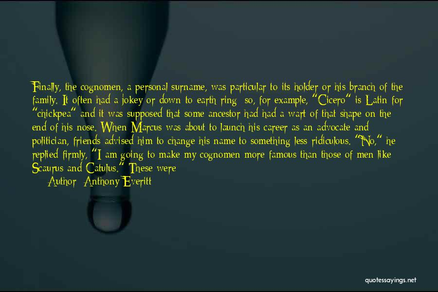 More Than Friends Family Quotes By Anthony Everitt