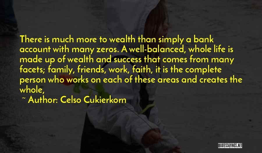 More Than Friends Family Quotes By Celso Cukierkorn