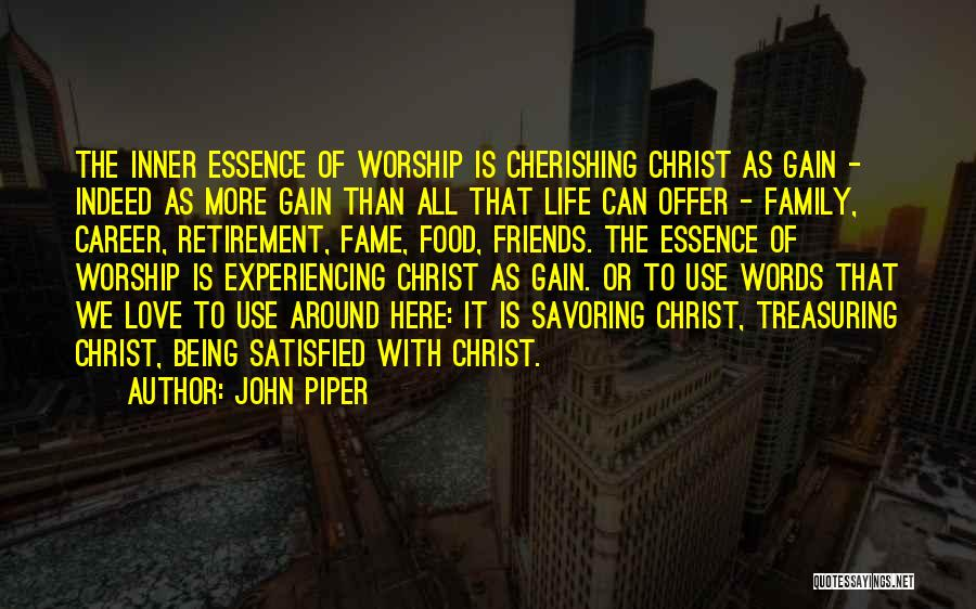 More Than Friends Family Quotes By John Piper