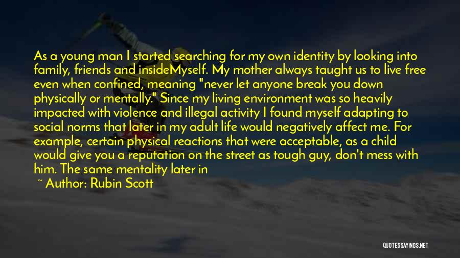 More Than Friends Family Quotes By Rubin Scott
