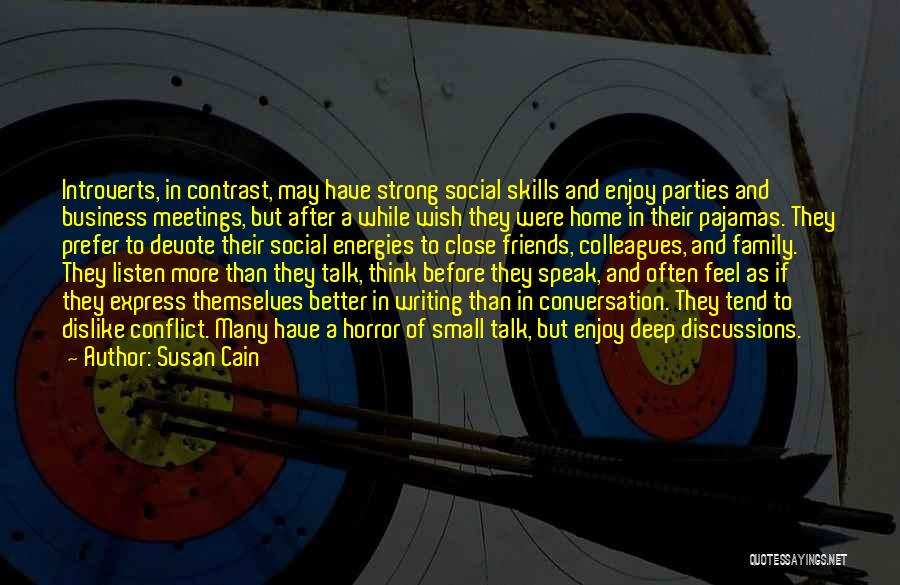 More Than Friends Family Quotes By Susan Cain