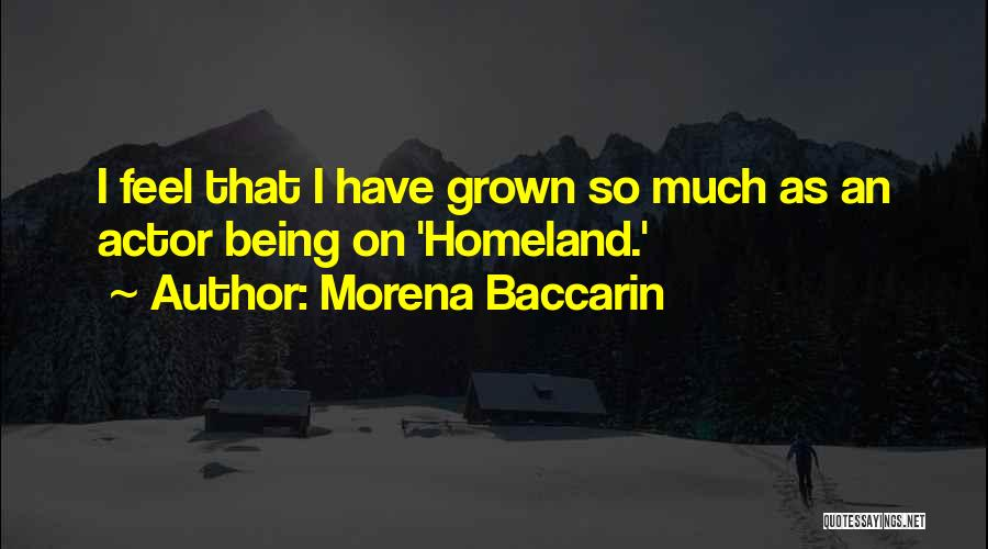 Morena Baccarin Quotes 1392478