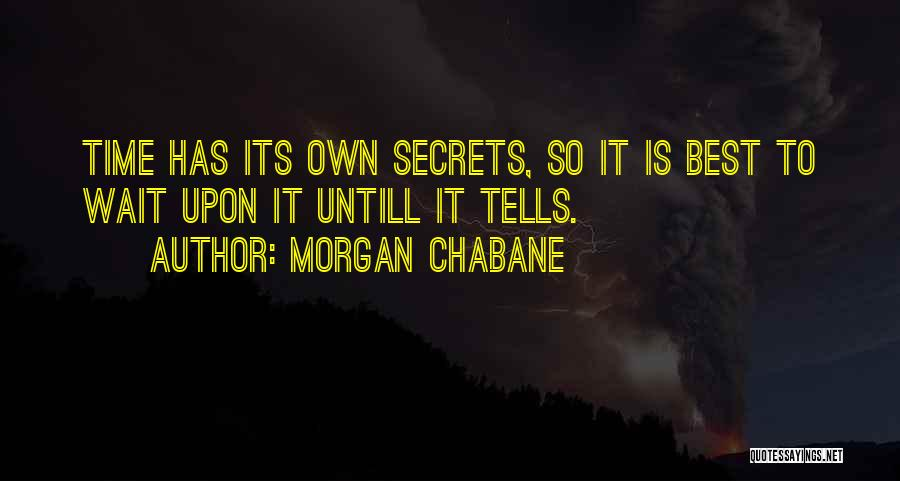 Morgan Chabane Quotes 1375289