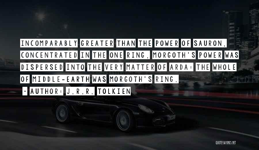 Morgoth Quotes By J.R.R. Tolkien