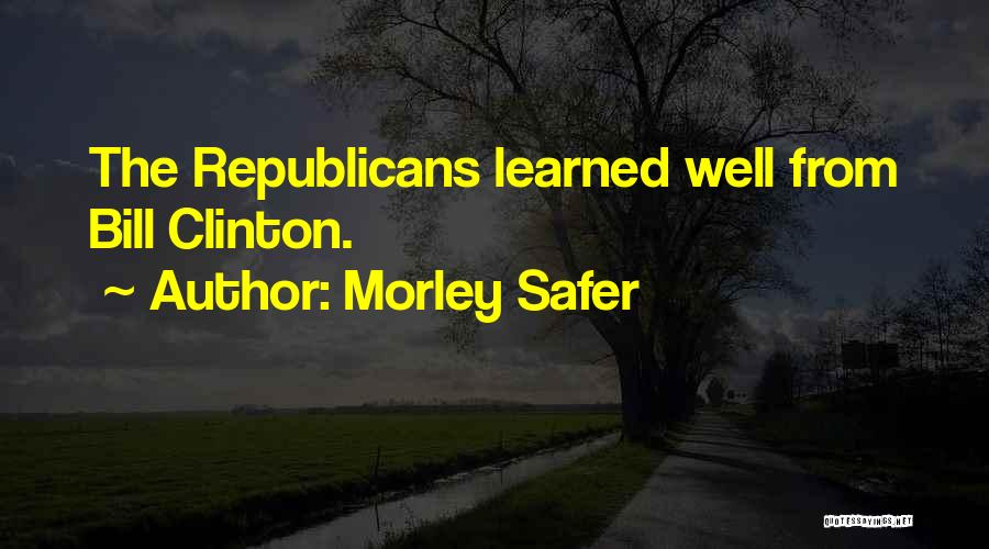 Morley Safer Quotes 1411963
