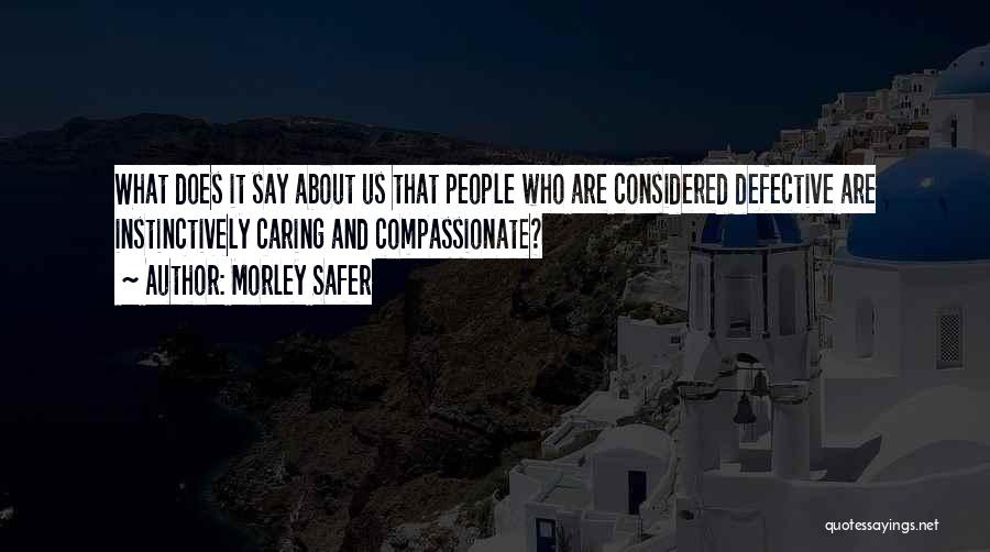 Morley Safer Quotes 1451502