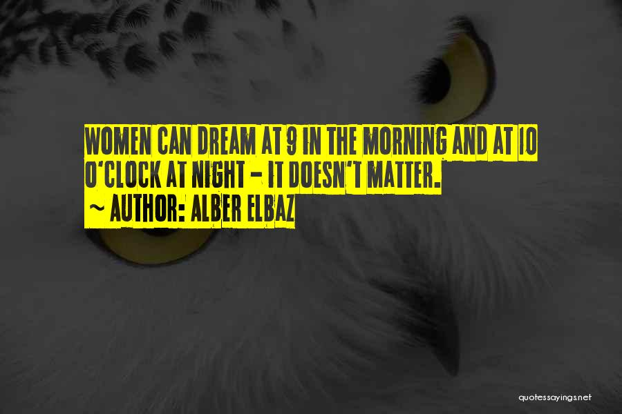 Morning And Night Quotes By Alber Elbaz