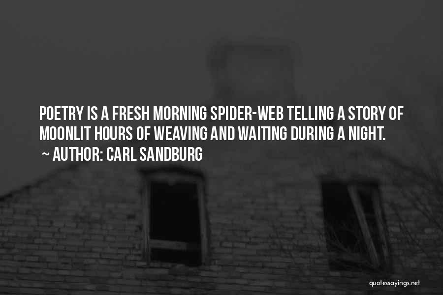 Morning And Night Quotes By Carl Sandburg