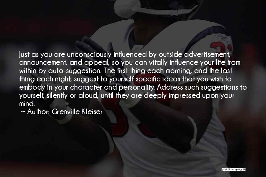 Morning And Night Quotes By Grenville Kleiser
