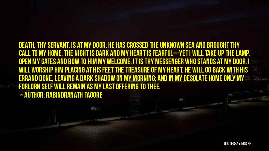 Morning And Night Quotes By Rabindranath Tagore