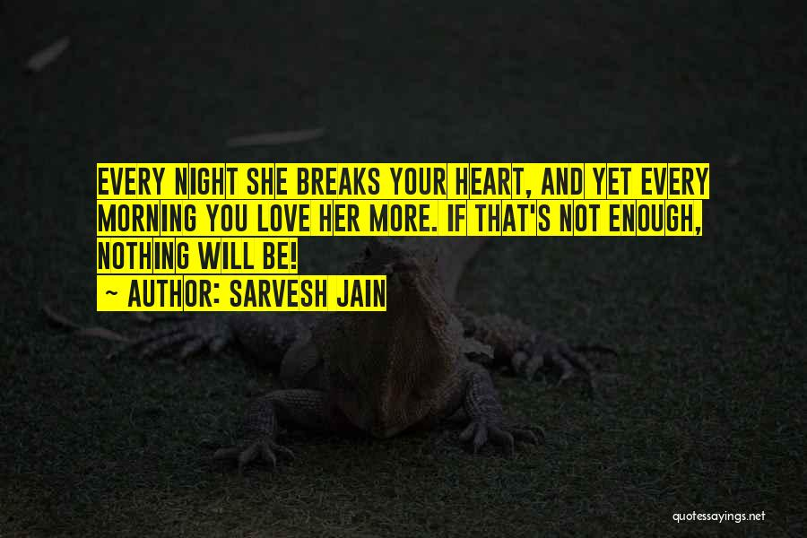 Morning And Night Quotes By Sarvesh Jain