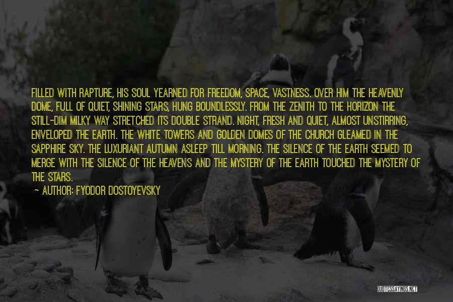 Morning For Him Quotes By Fyodor Dostoyevsky