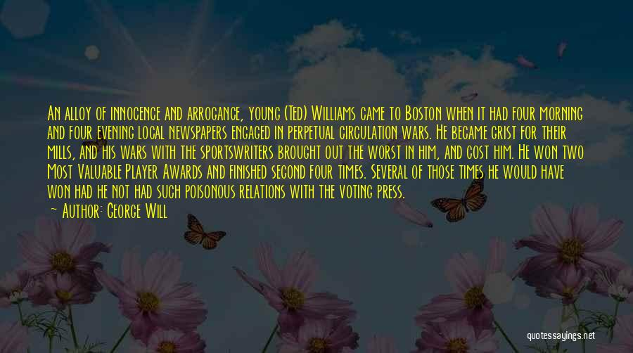 Morning For Him Quotes By George Will