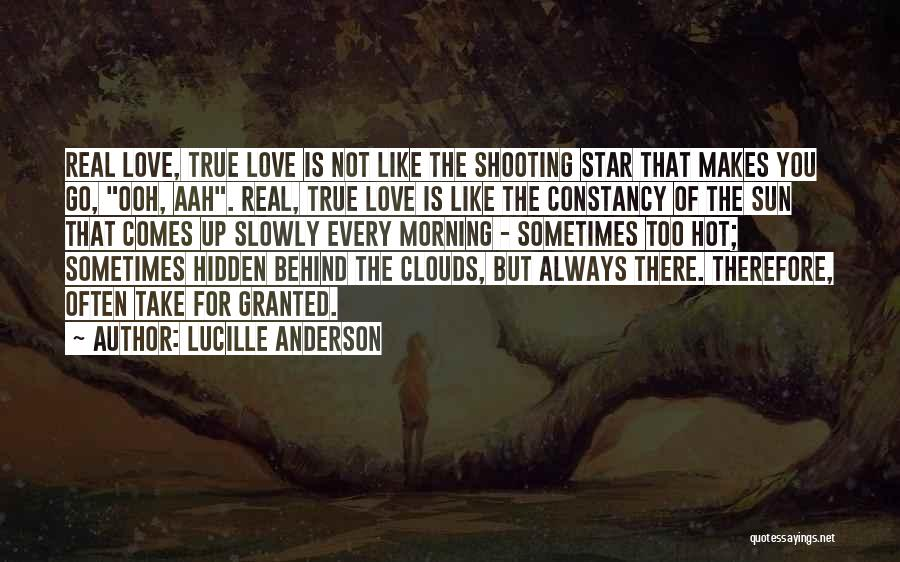 Morning Sun Love Quotes By Lucille Anderson