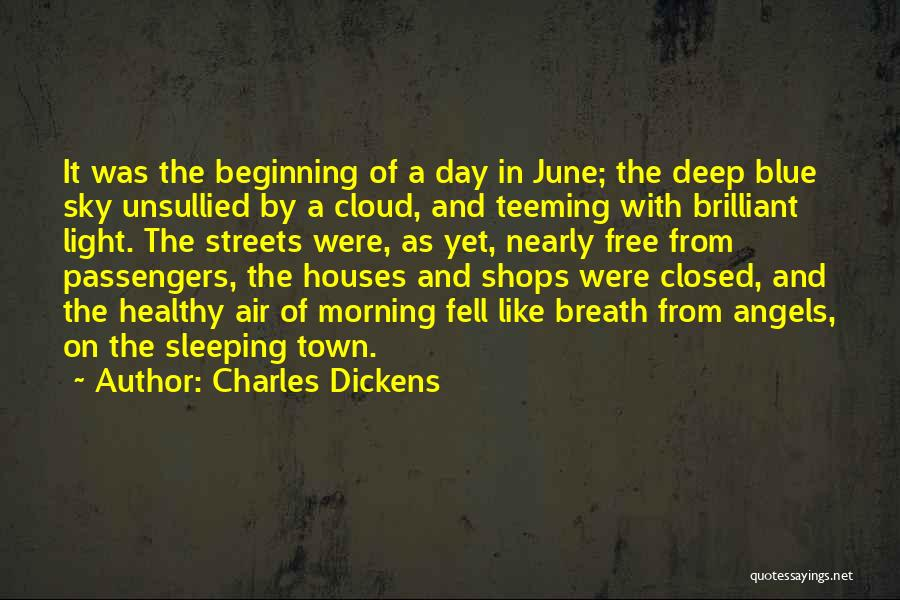 Morning With Nature Quotes By Charles Dickens