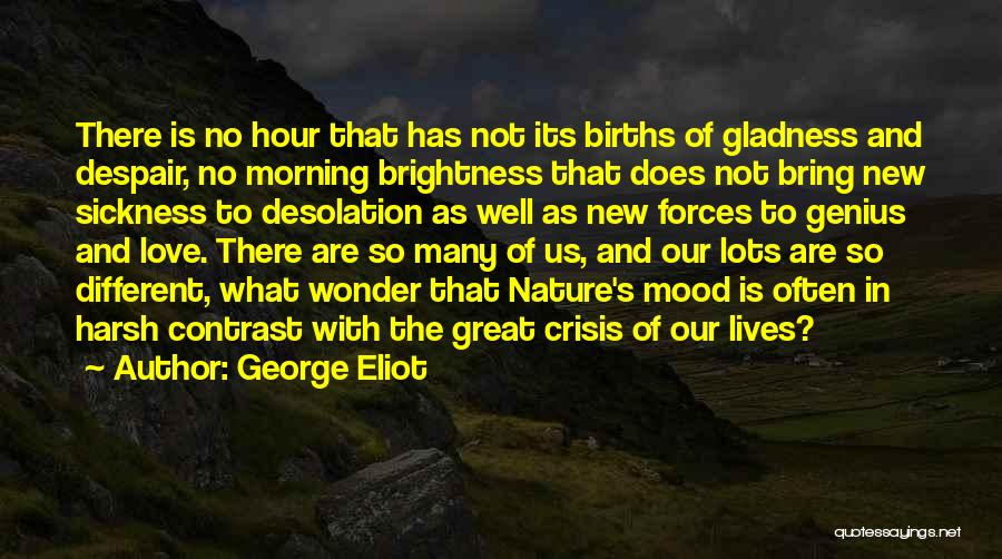 Morning With Nature Quotes By George Eliot