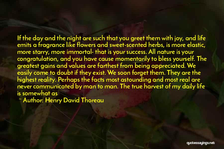 Morning With Nature Quotes By Henry David Thoreau