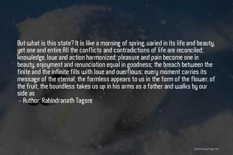Morning With Nature Quotes By Rabindranath Tagore
