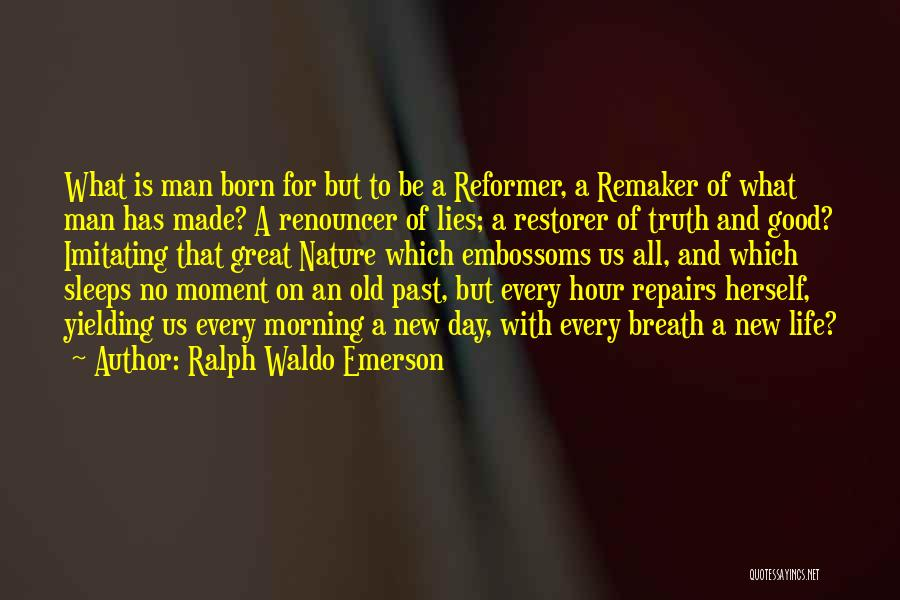 Morning With Nature Quotes By Ralph Waldo Emerson