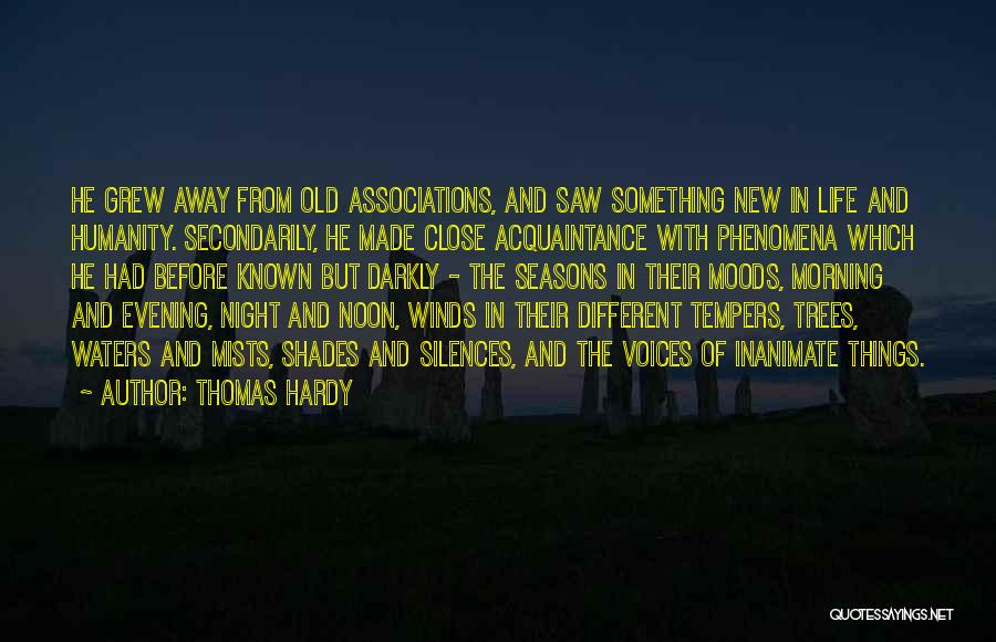 Morning With Nature Quotes By Thomas Hardy
