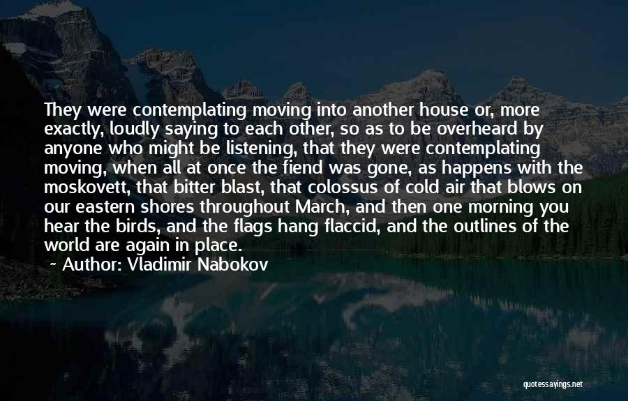 Morning With Nature Quotes By Vladimir Nabokov