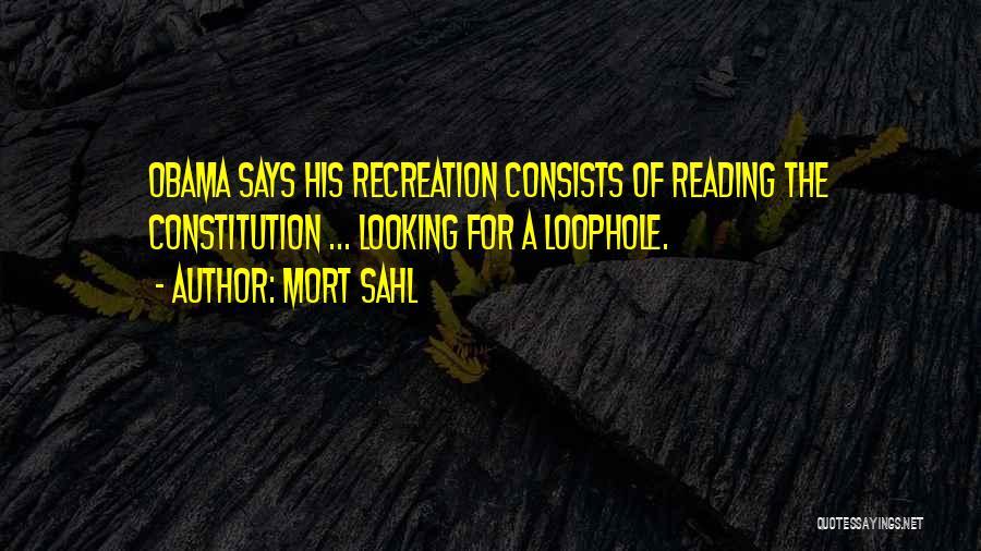 Mort Sahl Quotes 1551082